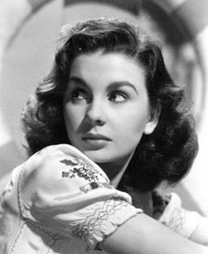 Jean Simmons, she was a lovely actress