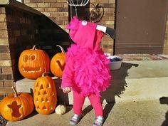 DIY Pink Flamingo Costume