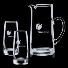 Promotional Products Ideas That Work: Vaughan Pitcher & 2 Coolers. Get yours at www.luscangroup.com