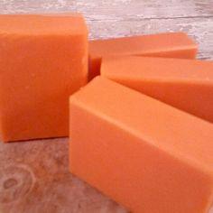 Wowza Black Cherry bomb homemade soap.  Yum!