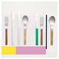 Muller van Severen -Cutlery for Valerie Objects [2016]