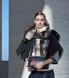 We love this Fendi Fall/Winter 2014-15 advertising campaign shot. For more Fendi fashion, visit http://balharbourshops.com/