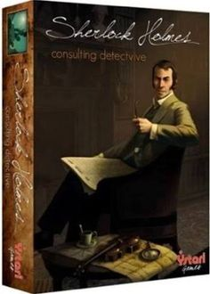 Sherlock Holmes Consulting Detective Boardgame