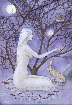 Hedgewitch by Sharyn Turner  Owl Totem Meaning http://www.spiritanimal.info/owl-spirit-animal/