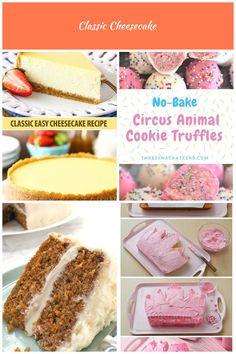 Classic Cheesecake Recipe - Easy Tips for the Best Cheesecake Desserts Cake Classic Cheesecake Best Cheesecake, Classic Cheesecake, Easy Cheesecake Recipes, Cheesecake Desserts, Cookie Recipes, Up Hairstyles, Truffles, Vanilla Cake, Cookies