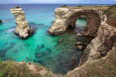 Sant'andrea, Italy — by Paola Kervin. Torre Sant'Andrea is a small town on the Adriatic coast of Salento. It 'a very small and ancient fishing village that...