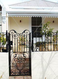 Gates and fences in wrought iron | individually designed | iron balustrades