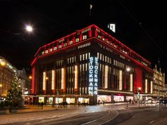 Stockmann department store in December Helsinki, Places Ive Been, Places To Go, Department Store, Homeland, Contemporary Design, How Are You Feeling, Architecture, December