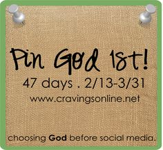 Pin God 1st!