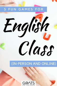 Are you an English teacher and need a few new ideas to make class fun? Here are 5 fun games for english class that you can do in-person or online! | #EnglishTeacher #EnglishClass #teachingEnglishonline English Classes Online, Teaching English Online, Teach English To Kids, Types Of Learners, Fun Classroom Activities, English Activities, Teaching Jobs, Learning Styles, Your Teacher
