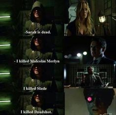 I guess Oliver's not that good at killing after all XD