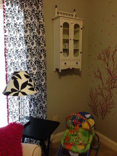 Grandma's Curio Cabinet for tiny tea sets!