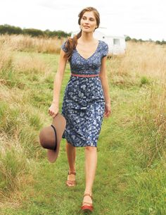 Hotchpotch Cotton Dress | Boden >> This is so pretty. I would wear this all the time!