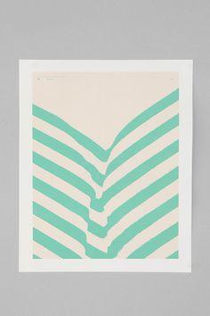 Matthew Korbel Bowers For Society6 Park Plants Print