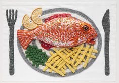 Kate Jenkins 'Crocheted Food Art'