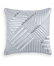 Hotel Collection Terra King Coverlet, Created for Macy's & Reviews - Quilts & Bedspreads - Bed & Bath - Macy's Throw Pillows Bed, Decorative Throw Pillows, Geometric Embroidery, King Duvet, Queen Duvet, Jacquard Fabric, Bedding Collections, Baby Clothes Shops, Duvet Covers