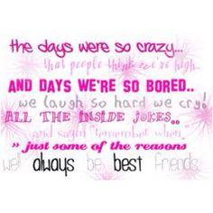 I love my best friend:)
