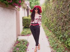 Summer Style: Wonderful Floppy Hats - AllDayChic