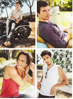 Pretty Little Liars: Keegan Allen, Ian Harding, Tyler Blackburn, and Julian Morris. The boys