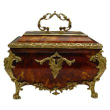 "Glorious Antique French Tortoise Casket ""A Masterpiece"""