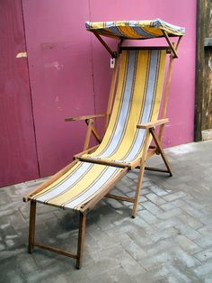 Bon Antique Deck Chair
