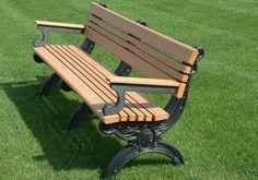 Durable outdoor bench