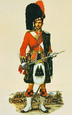 The Black Watch by A.E. Haswell Miller my favorite British regiment  the 95th rifles are my other favorite