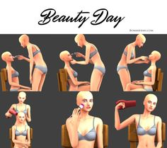 sims 4 poses beauty make up hairdryer Sims 4 Poses, Sims 4 Couple Poses, Couple Posing, Family Posing, Couple Shoot, Family Portraits, Sister Poses, Friend Poses, Sibling Poses