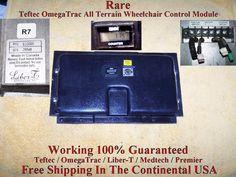 Rare OmegaTrac All Terrain Power Wheelchair Control Module / Medtech / E22000