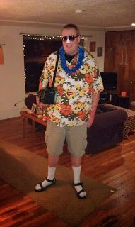 DIY Halloween Costume Male Tacky Tourist  sc 1 st  Pinterest & Coolest Tacky Tourists Costumes | Pinterest | Tourist costume ...