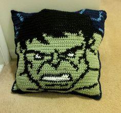 Incredible Hulk Pillow