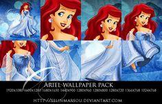 Ariel wallpaper pack by selinmarsou.deviantart.com on @deviantART