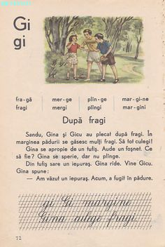 Romanian Language, Vintage School, Book Illustration, Illustrations, Kids Education, Nostalgia, Crafts For Kids, Activities, Books