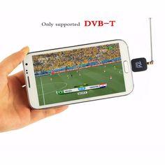 Mini Micro USB DVB-T tuner TV receiver Dongle/Antenna DVB T HD Digital Mobile TV HDTV Satel… http://sumo.ly/wEF5
