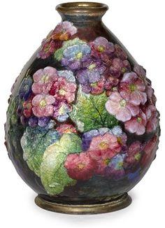 Oviform vase von Camille Fauré