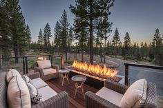 Thanks to Martis Camp Realty for the excellent photos. Mountain Modern, Mountain Homes, Kitchen Dining Living, Florida Home, Big Houses, Future House, House Plans, Photo Galleries, Camping