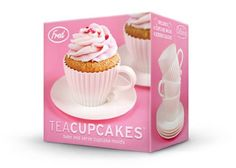 Fred & Friends Teacup Cakes Cupcake Mold : Amazon.com : Kitchen & Dining