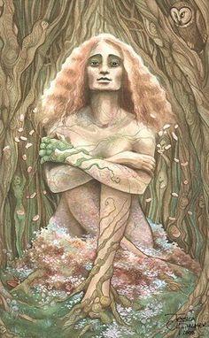 celtic goddess photo: Blodeuwedd blodeuwedd4.jpg
