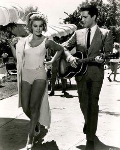 Elvis Presley and Ann Margret in Viva Las Vegas.1964