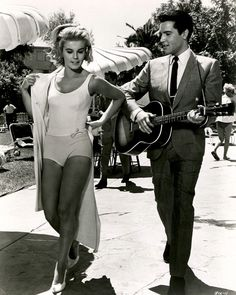 Elvis Presley and Ann Margret in Viva Las Vegas.1964