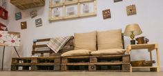 Chloe decoration sofa#pallets#