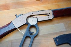 Picture of How to Make a Wooden Toy Winchester Rifle