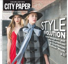 Cover of the Charleston City Paper for CFW 2011. March 2011. Shot by Reese Moore.