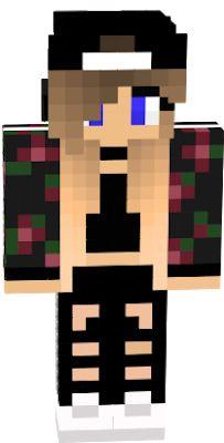 Minecraft Skins Girl Wolf, Minecraft Skins Female, Minecraft Skins Cute, Wallpaper Iphone Cute, Cute Wallpapers, Minecraft Wolf, Nova Skin Gallery, Minecraft Decorations, Fantasias Halloween