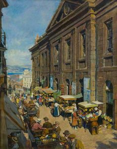 Market Place- Stanhope Forbes