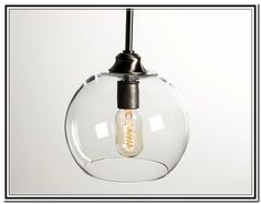 Clear Glass Pendant Lights For Kitchen - Pendant Lights ...