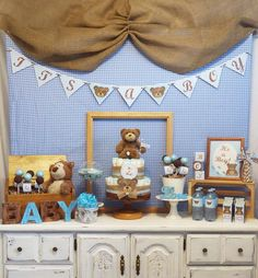 Teddy Bear  Baby Shower Party Ideas | Photo 2 of 22