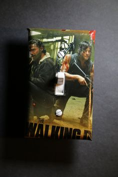 The Walking Dead Daryl Dixon Rick Grimes Light Switch Cover mancave cool comic book home decor geek zombies walkers Norman Reedus Darryl by ComicRecycled on Etsy