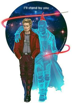 STARLORD AND YONDU.