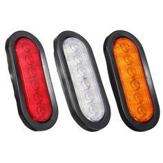 2X Turn Signal Lights Lamp 2835SMD 12V Waterproof IP68 Amber Practical